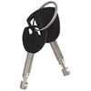 ABUS 1000 Granit Steel-O-Flex Zapięcie kablowe  czarny